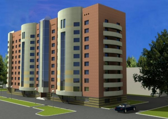 Структура строительства жилых домов по этажности